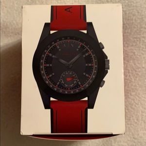 Armani Exchange Men's HybridSmartwatch REDSilicone